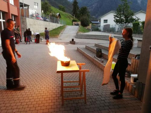 Feuerwehrübung & FIFA Turnier 2018